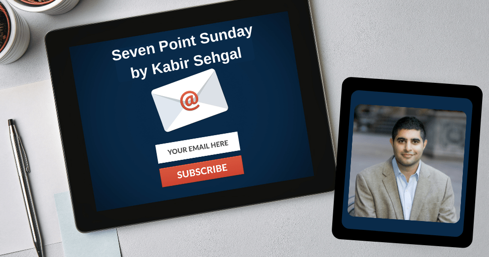 Seven Point Sunday #10