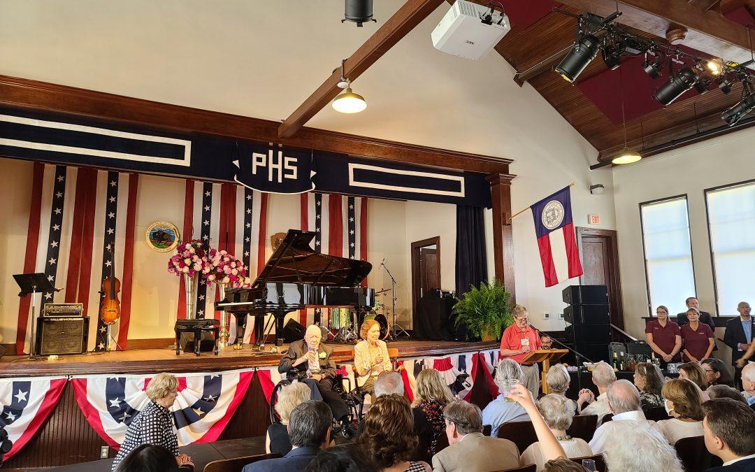 Jimmy & Rosalynn Carter's 75th Wedding Anniversary: Georgia Wine, Fly Fishers, and an Andrew Lloyd Weber Medley